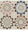 Abstract circles pattern vector image