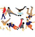 break dance collection - vector image