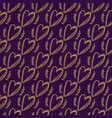 seamless doodle hearts pattern vector image