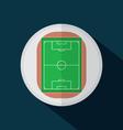 Top View Of Football Stadium vector image