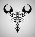 Tribal Scorpion vector image vector image