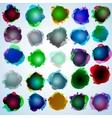 color speech bubbles collection eps 10 vector image vector image