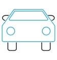 Car Outline Icon vector image