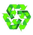 green arrows recycle is a two-level of the cyclic vector image