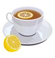 lemon tead vector image