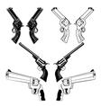 revolvers vector image