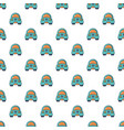 toy car pattern seamless vector image