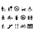 international service symbols vector image vector image