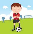 Umpire Soccer vector image