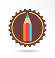 Pencil logo and icon vector image