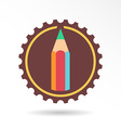 Pencil logo and icon vector image