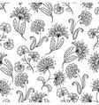 line-art seamless vector image