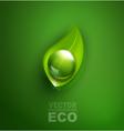 element for ecological design vector image vector image