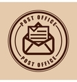 posty office vector image