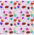 ice cream pattern 7 big vector image