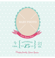 Baby Arrival Card vector image vector image