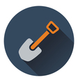 Icon of camping shovel vector image