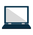 Personal Computer laptop flat icon vector image