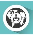symbol x-ray body health icon vector image