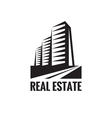 Real Estate - logo concept design vector image
