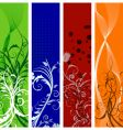 Floral banners  vector