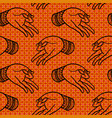 hands pattern vector image