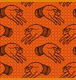 hands pattern vector image