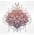 ornamental Lotus flower vector image