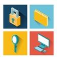 usefull for desktop isometric icon vector image