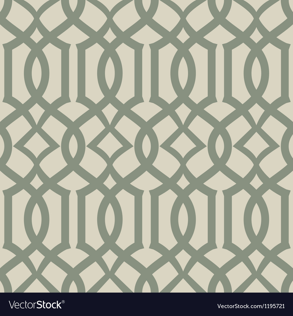 Seamless trellis background pattern vector