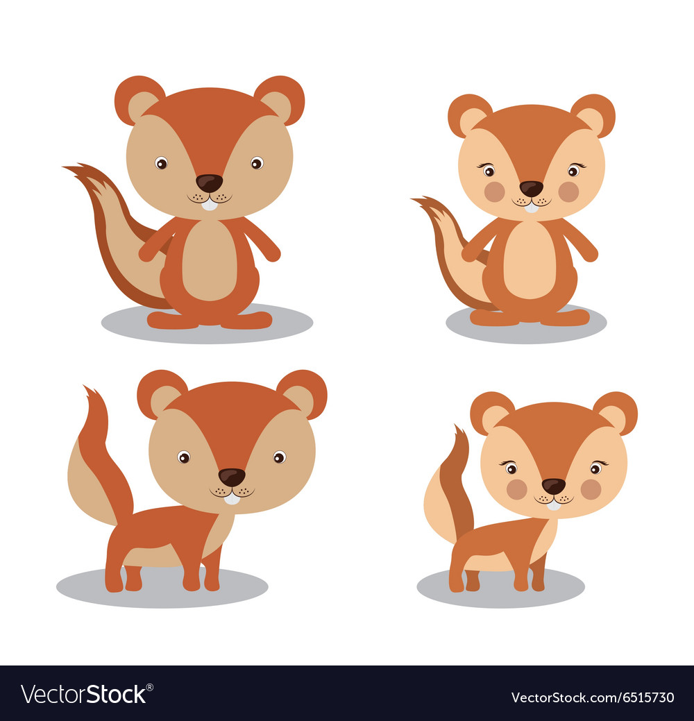 Animal cute design vector