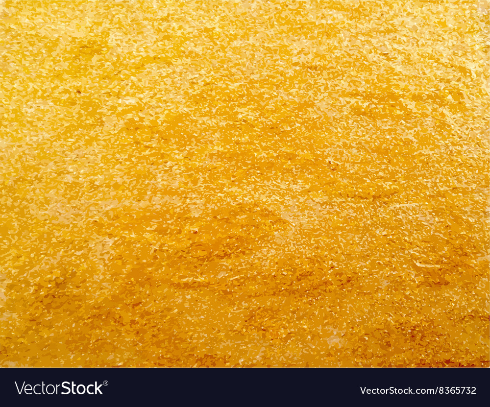 Texture of golden surface vector