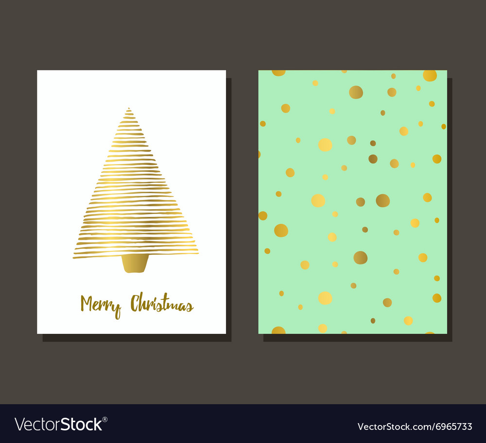Christmas greeting card design vector