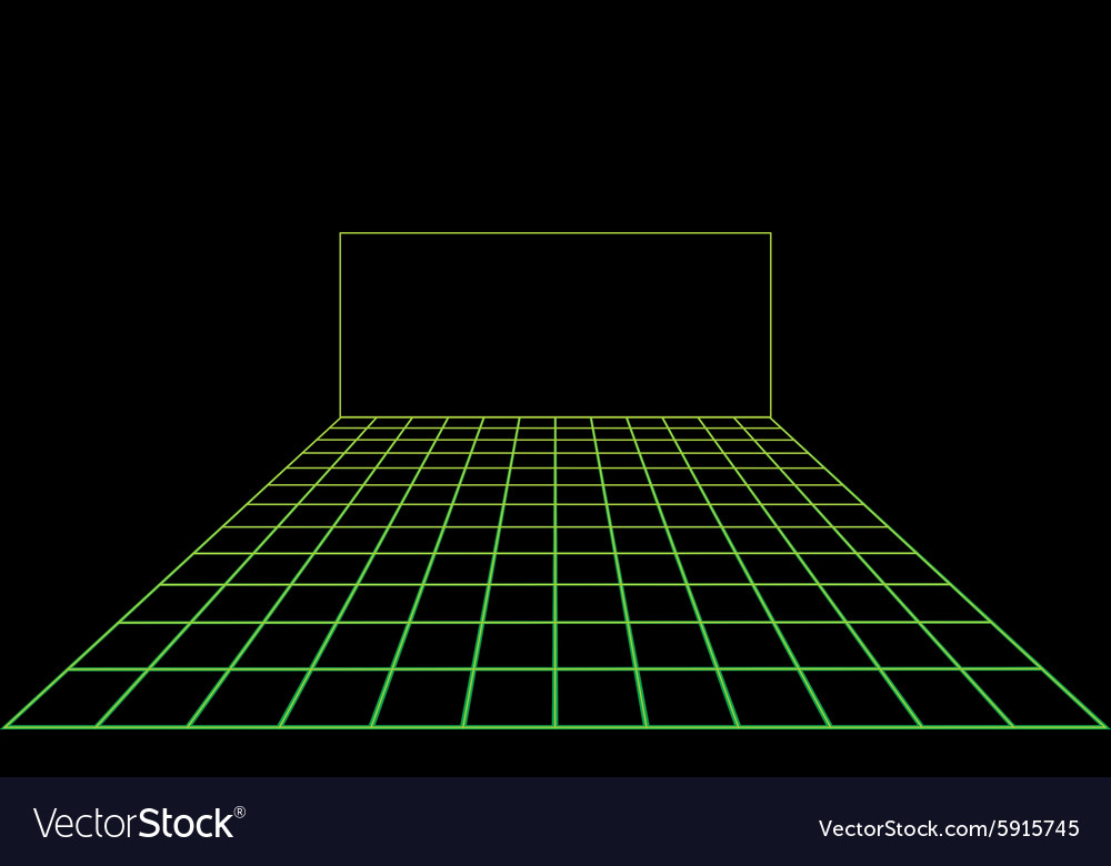 Disco light dance floor vector