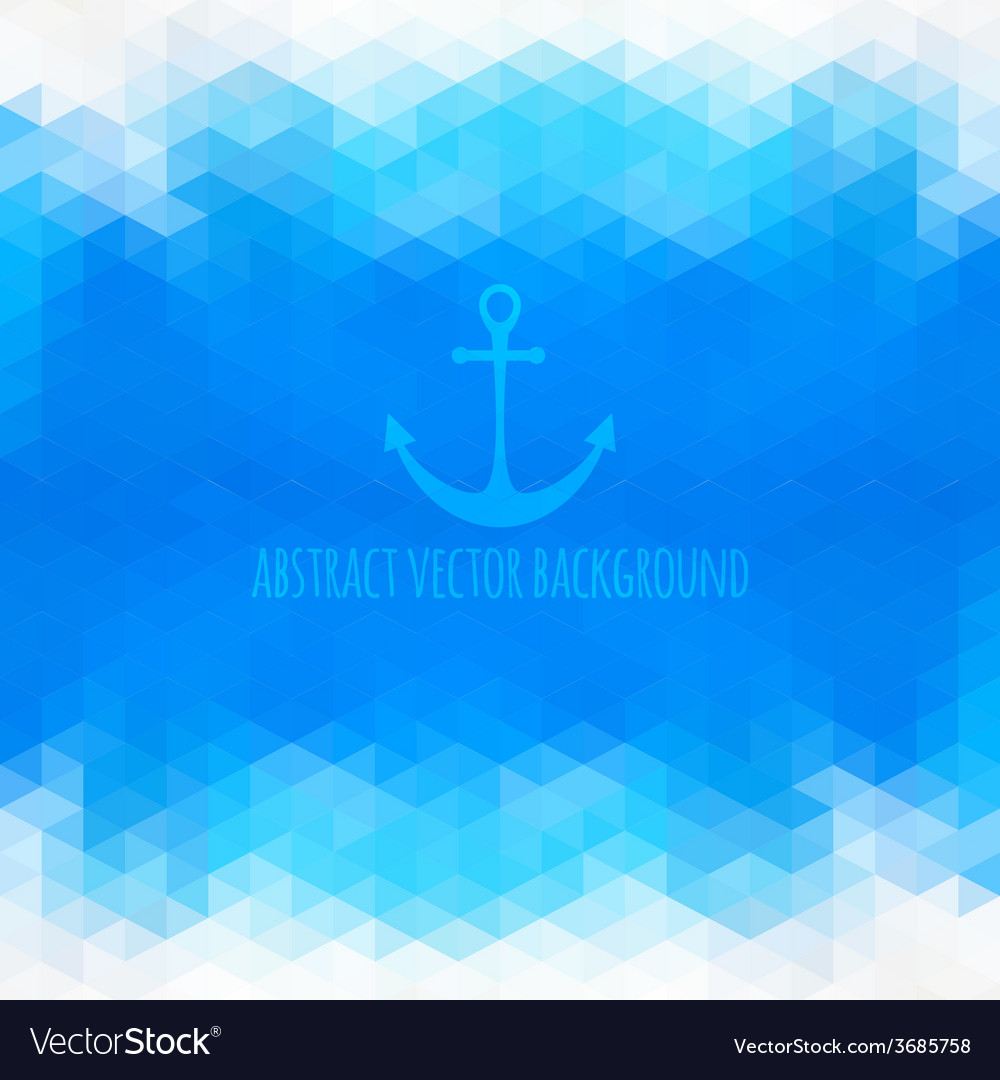 Abstract beach triangular background made of vector