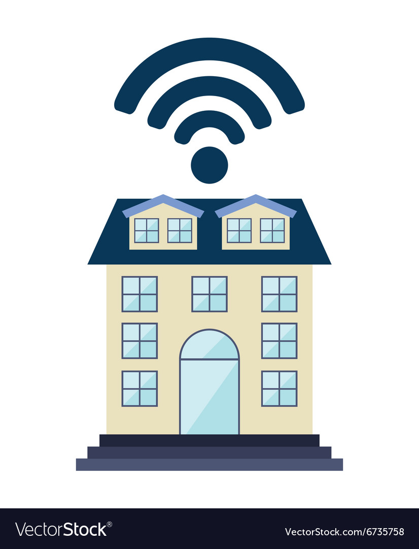 Wifi service design vector