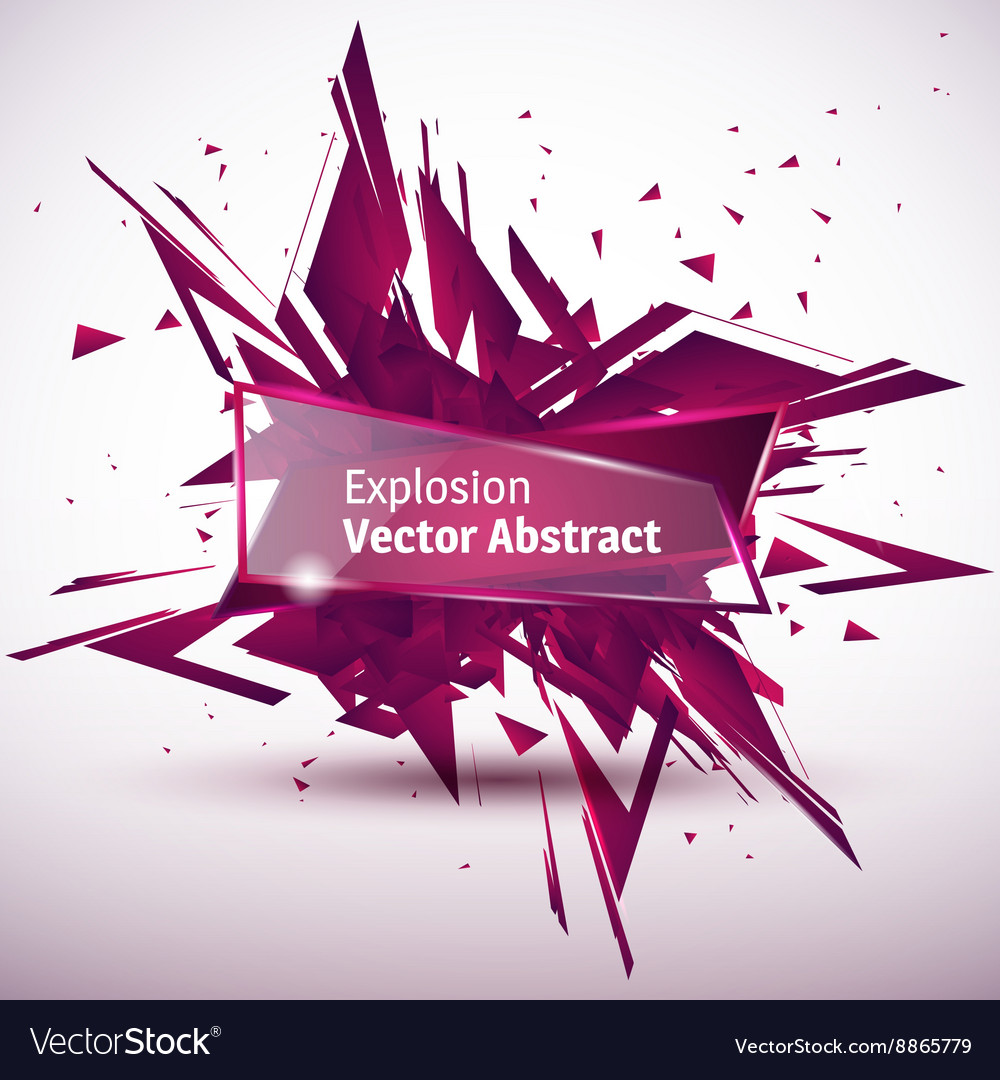 An abstract explosion vector