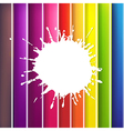 Color Background With Blob vector image