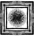 Grunge brush seamless frames strokes pattern vector image vector image