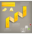 infographic elements for design vector image