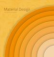 Bright Colorfull Material Design Abstract Circles vector image