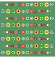 Bright circles baby background vector image
