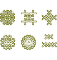 celtic pattern vector image