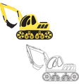 Dredge toy vector image vector image
