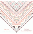 Tribal ethnic corner pattern for your cute vector image