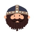 viking man cartoon vector image