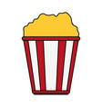 popcorn icon image vector image