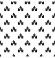 fairytale castle pattern vector image