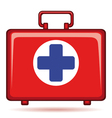 Medicine chest vector image