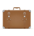 suitcase old retro vintage icon stock vector image